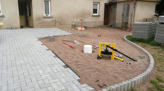 Terrassenbau 2017/18 Teil x