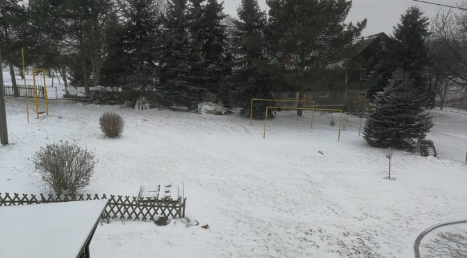 Erneuter Wintereinbruch